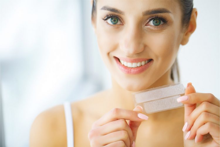 How To Use Teeth Whitening Strips At Home