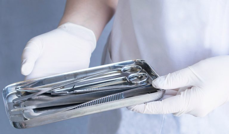 Why are heat and alcohol used to disinfect medical equipment