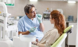 repairing dental implants