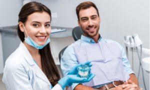 seeking dentist help